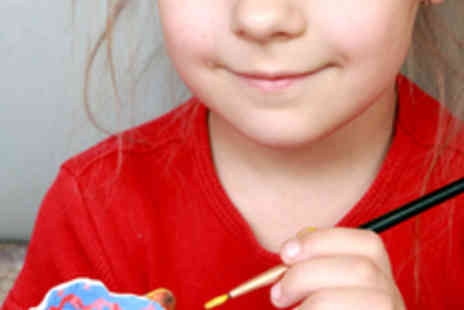 Wacky Workshops - Kids Pottery Painting Class - Save 50%