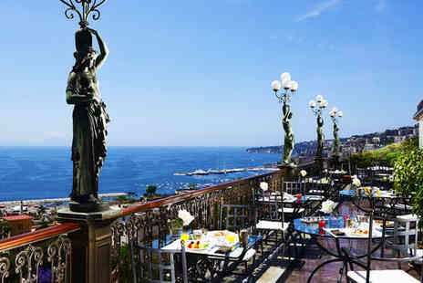 Grand Hotel Parkers - Five Star Stunning Views over The Bay of Naples for two - Save 71%