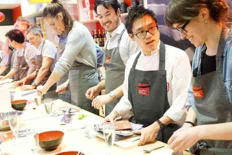 School of Wok - Dim sum or sushi making evening - Save 38%