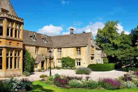 Lords of the Manor - Cotswolds gourmet country house stay including meals - Save 0%