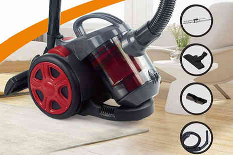 Groundlevel - 700W cyclonic bagless vacuum cleaner - Save 75%