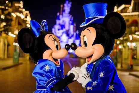 Crystal Travel - Two night Disneyland Paris stay with flights and one day two park entry for two, three or four - Save 36%