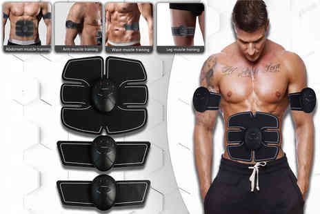 Morag Online - Abdominal stimulator and arm pads - Save 50%