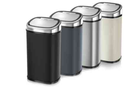 Groupon Goods Global GmbH - Tower 58L Square Sensor Bin - Save 75%