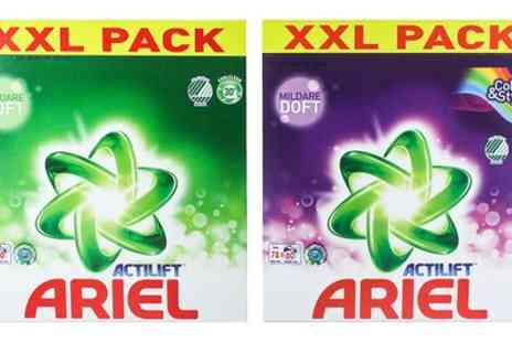 Groupon Goods Global GmbH - Two or Four Ariel Colour and Style or White Washing Powder XL Packs 2.59kg - Save 0%