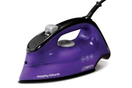 Groupon Goods Global GmbH - Morphy Richards 2600W Breeze Steam Iron - Save 56%