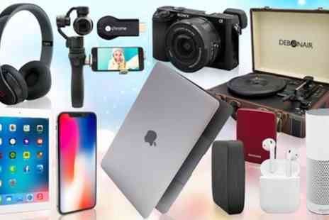 Groupon Goods Global GmbH - Mystery Gift with a Chance to Receive iPhone X, MacBook, Vibe Slick headphones, Jawbone UP2, Beats Solo2 or Amazon Alexa - Save 0%