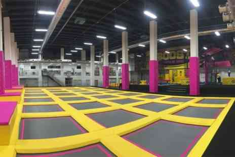 Boost Leicester - Trampoline Park Access One Hour Session for Up to Four - Save 28%