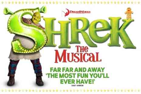 ATG Tickets - One Band A ticket to Shrek the Musical on 23 To 25 January - Save 40%