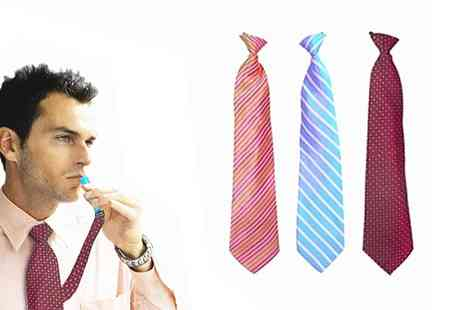 Groupon Goods Global GmbH - One or Three Flask Ties - Save 60%