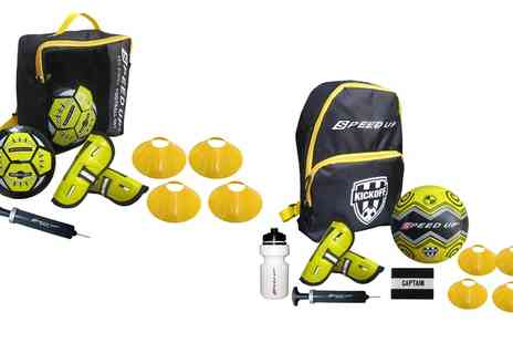 Groupon Goods Global GmbH - Five or Seven Piece Speed Up Football Set - Save 0%