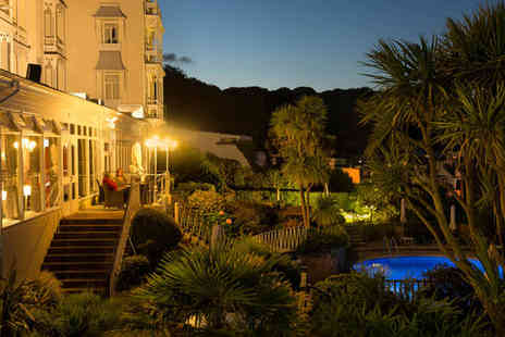 The Somerville Hotel - Four Star Romantic Harbour Holiday with Sea Views For Two - Save 80%