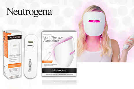 Jynx Direct - Neutrogena light therapy acne mask or mask and 30 or 60 day activator - Save 48%