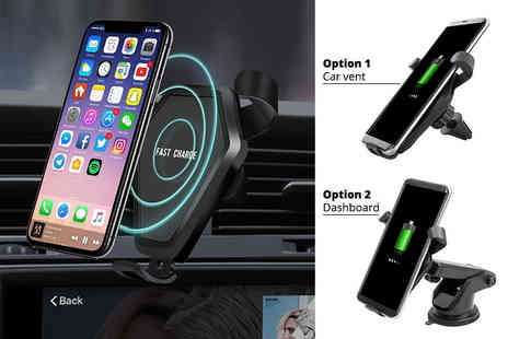 Charles Oscar - Wireless car charger - Save 73%