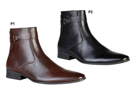 Shopping Moda Online - Pair of Pierre Cardin mens boots - Save 66%