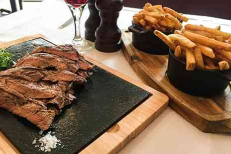 Waterloo Bar & Kitchen - Three Course Steak Meal for Two - Save 53%