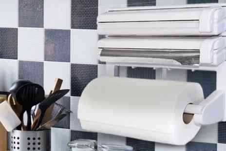 Groupon Goods Global GmbH - Triple Roll Paper Dispenser - Save 57%