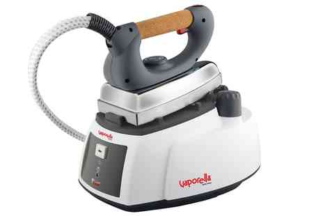 Groupon Goods Global GmbH - Polti Vaporella 505 Steam Generator Iron With Free Delivery - Save 38%