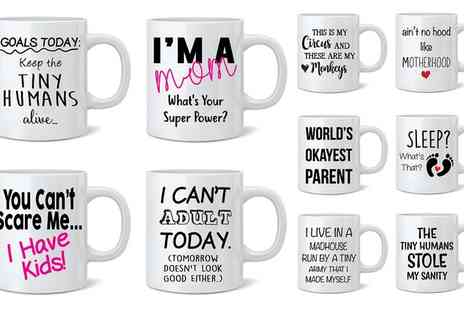 Groupon Goods Global GmbH - One or Two Parent Mugs - Save 54%