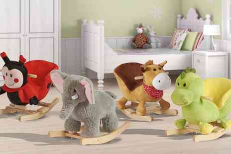Groupon Goods Global GmbH - My Play Toddlers Animal Rockers - Save 57%