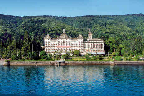 Grand Hotel Des Iles Borromees - Five Star Luxury Lakeside Spa Hotel Stay For Two - Save 78%