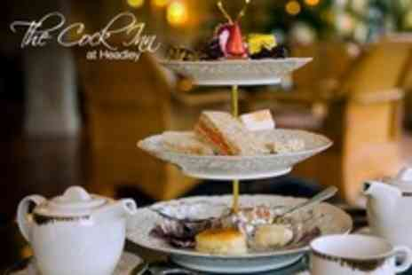The Cock Inn - Afternoon Tea For Two With Cocktail Each - Save 50%
