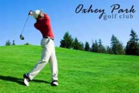 Oxhey Park Golf Club - Full Day of Golf For Two - Save 67%