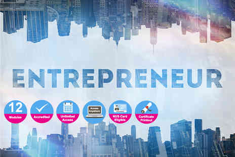 e courses4you - Accredited certificate in entrepreneurship - Save 96%
