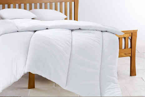 Home Furnishings Company - Single, double, king or super king size super bounce back 13.5 tog winter duvet - Save 85%