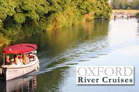 Oxford River Cruises - One Hour Private River Cruise For Up to 12 People With Bottle of Prosecco - Save 62%