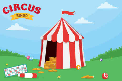 Circus Bingo - £25 of bingo credit to use on CircusBingo.com - Save 92%