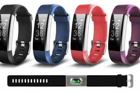 Groupon Goods Global GmbH - Aquarius AQ125 Touch Screen Fitness Tracker with HRM in Choice of Colour - Save 64%