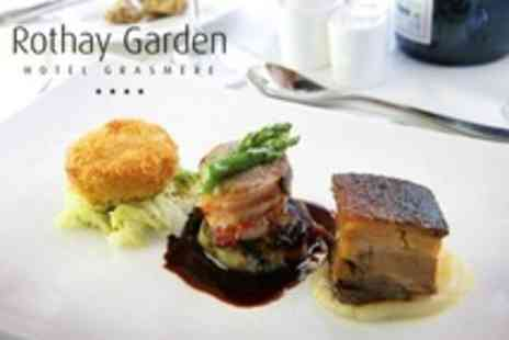 Rothay Garden Hotel - Gourmet Break One night stay for two in a Langdale or Rydal room - Save 49%