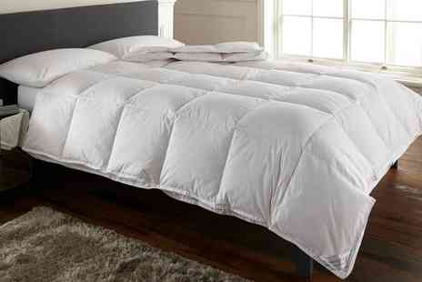 Groupon Goods Global GmbH - All Seasons Double Sided Duck Feather Duvet - Save 76%