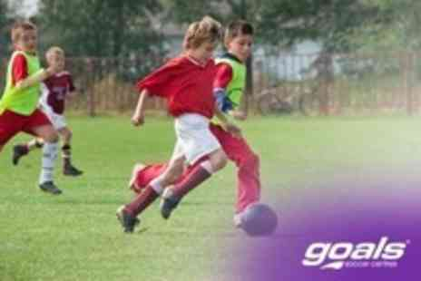 Goals Soccer Centres - Summer Football Camp For One Kids - Save 60%