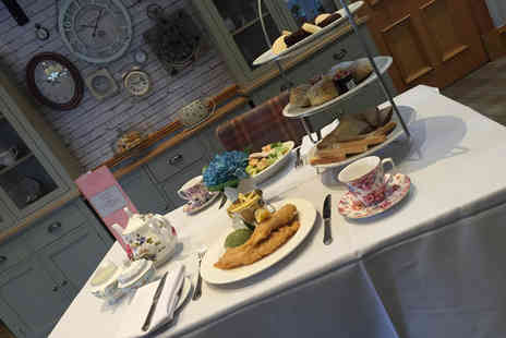 Grange Manor - High tea for two - Save 50%