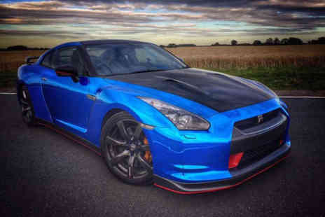 Car Chase Heroes - Three lap Nissan GT R NISMO driving experience at one of 10 UK locations - Save 61%
