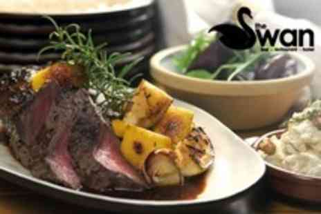 The Swan Hotel - Sunday Lunch With Drinks For Four - Save 58%