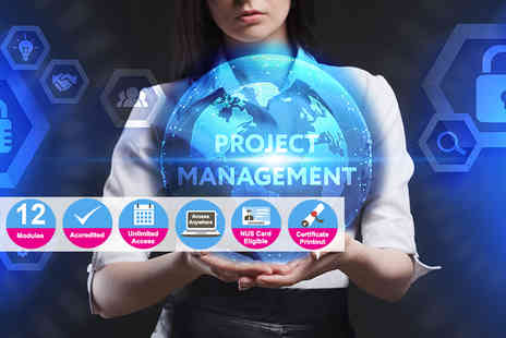 e Courses4You - Accredited certificate in project management - Save 90%