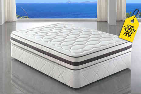 Midnight Dreams - Tranquility pocket sprung memory foam mattress select from six sizes - Save 87%