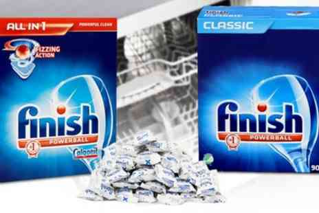 Groupon Goods Global GmbH - Finish All in One or Classic Powerball Dishwasher Tablets - Save 73%