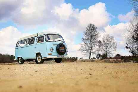 New Forest Safari Campers - Three or Four Night Vintage VW Camper Van Hire for Four - Save 50%