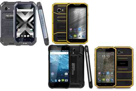 Groupon Goods Global GmbH - GoClever Quantum Outdoor Water Resistant Smartphone in Choice of Model - Save 44%