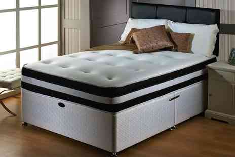 Groupon Goods Global GmbH - 3D Deep Quilted Orthopaedic Mattress With Free Delivery - Save 83%