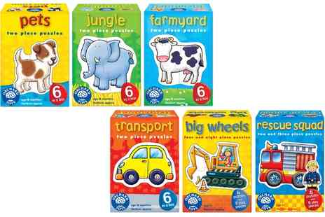 Groupon Goods Global GmbH - Three or Six Pack Orchard Toys First Jigsaw Puzzles For Toddlers - Save 0%
