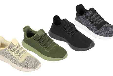 Groupon Goods Global GmbH - Mens Knit Jogging Trainers in Choice of Style and Colour - Save 0%