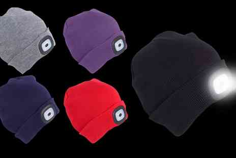 Groupon Goods Global GmbH - One, Two or Three Globrite Adult Led Beanies - Save 60%