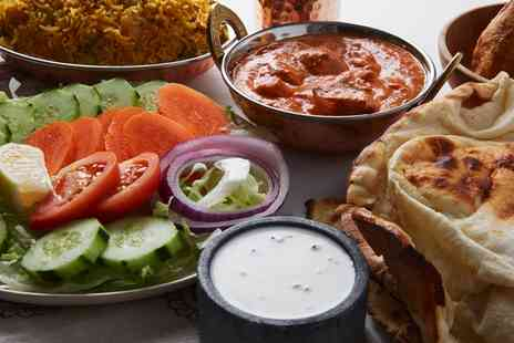 Kul Sumah Lounge - Three Course Indian Banquet with Sides for Up to Six - Save 50%