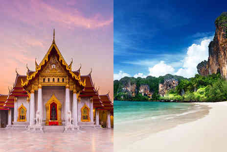 Column Bangkok - Four Star Bustling City Break and Beachside Beauty - Save 0%