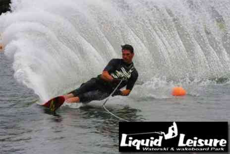 Liquid Leisure - Five Hour Wakeboarding Experience With Equipment Hire - Save 59%
